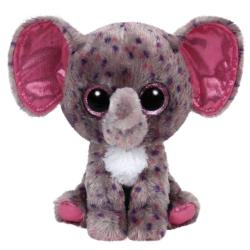 TY Inc Beanie Boos: Specks - Baby elefant mov-gri 24cm (TY37039)