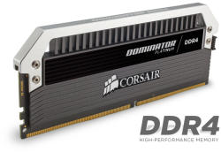 Corsair Dominator Platinum 64GB (4x16GB) DDR4 3200MHz CMD64GX4M4C3200C16