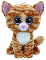 TY Inc Beanie Boos: Tabitha - Baby pisica maro 24cm (TY37034)