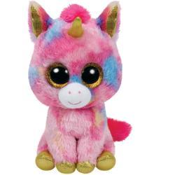 TY Inc Beanie Boos: Fantasia - Baby unicorn roz 24cm (TY37041)