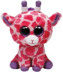 TY Inc Beanie Boos: Twigs - Baby girafa roz 15cm (TY36739)