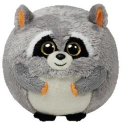 TY Inc Beanie Ballz: Mischief - Baby raton gri 12cm (TY38039)