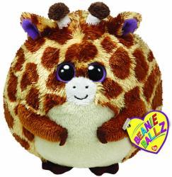 TY Inc Beanie Ballz: Tippy - Baby girafa maro 12cm (TY38024)
