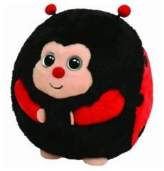 TY Inc Beanie Ballz: Dots - Baby buburuza 12cm (TY38008)