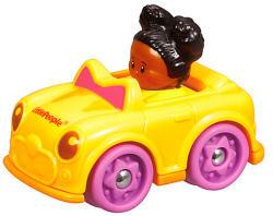 Fisher-Price Little People - Négykerekű autópajtás - Tessa sportkocsija
