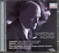 SUPRAPHON Tchaikovsky/Prokofiev/Bach: Piano concertos