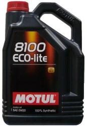 Motul 8100 Eco-lite 0W-20 (4L)