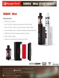 Kanger Subox Mini 50W