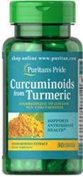 Puritans Pride Curcuminoids From Turmeric 30db