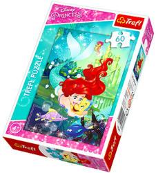 Trefl Disney hercegnők - Ariel és Ficánka 60 db-os (17283)