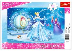 Trefl Disney hercegnők - Hamupipőke varázslatos éjszakája 15 db-os (31229)