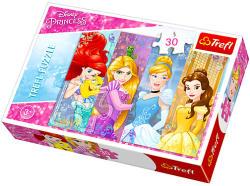Trefl Disney hercegnők - Mesebeli hercegnők 30 db-os (18205)