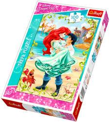 Trefl Disney hercegnők - Ariel: Találka a parton 100 db-os (16288)
