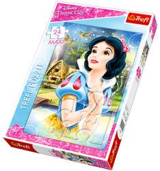 Trefl Maxi Puzzle - Disney hercegnők: Hófehérke ábrándozik 24 db-os (14234)
