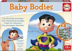 Educa Baby Bodies - Oktató puzzle kicsiknek: Testek (16222)