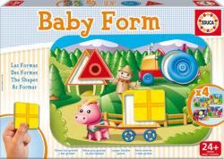 Educa Baby Form - Oktató puzzle kicsiknek: Formák (15862)