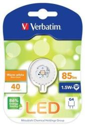 Verbatim G4 1.5W 2700K 85lm VLED145