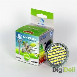 M-Tech MR16 3.6W 3000K 220lm MTL423