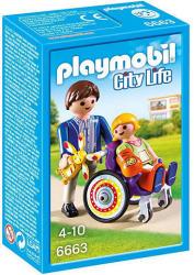 Playmobil City Llife - Tolószékes gyermek apukával (6663)