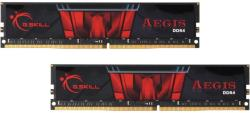 G.SKILL Aegis 32GB (2x16GB) DDR4 2400Mhz F4-2400C15D-32GIS