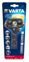 VARTA 1 Watt LED Sports Head Light 2AAA (11632)