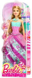 Mattel Barbie - Hercegnő baba - cukor mintás ruhában (DHM54)