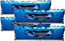 G.SKILL Ripjaws4 32GB (4x8GB) DDR4 3000Mhz F4-3000C15Q-32GRBB