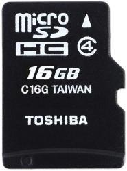 Toshiba HIGH SPEED M102 16GB Class 4 THN-M102K0160M2