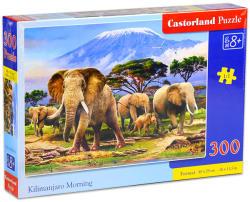 Castorland Reggel a Kilimandzsárónál 300 db-os (B-030019)