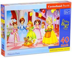 Castorland Maxi Puzzle- Hercegnő parti 40 db-os (B-040162)