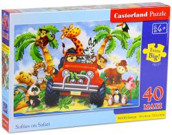 Castorland Maxi Puzzle - Szafari 40 db-os (B-040131)