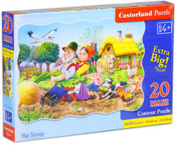 Castorland Maxi Puzzle - Répa mese 20 db-os (C-02283)