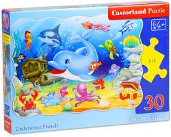 Castorland Vízalatti barátok 30 db-os (B-03501-1)