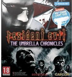 Capcom Resident Evil The Umbrella Chronicles [Light Gun Bundle] (Wii)