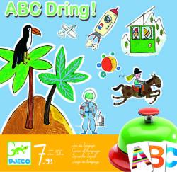 DJECO ABC Dring! - Joc de societate abecedar (DJ08484)