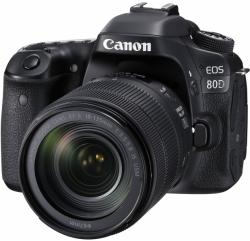 Canon EOS 80D +18-135mm IS USM