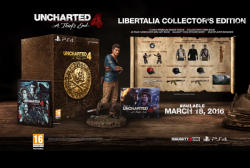 Sony Uncharted 4 A Thief's End [Libertalia Collector's Edition] (PS4)