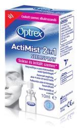 Optrex ActiMist 2in1 szemspray száraz és irritált szemre 10ml