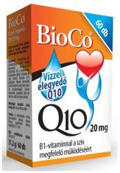 BioCo Vízzel elegyedő Q10 20mg B1-vitaminnal (60db)