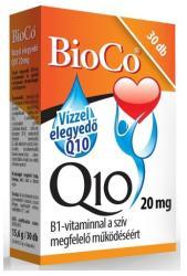 BioCo Vízzel elegyedő Q10 20mg B1-vitaminnal (30db)