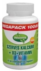 Innovita Szerves Kalcium+D3-Vitamin tabletta - 100 db