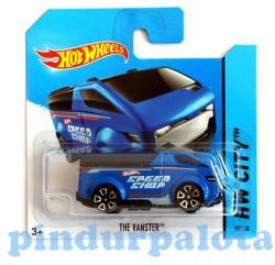 Mattel Hot Wheels - City - The Vanster, kék
