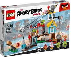 LEGO The Angry Birds Movie - Malac város lerombolása (75824)