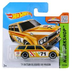 Mattel Hot Wheels - Workshop - 71 Datsun Bluebird 510 Wagon