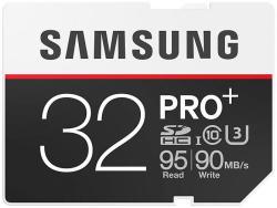 Samsung PRO+ SDHC 32GB Class 10 MB-SD32D/EU