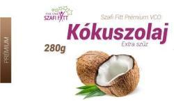 Szafi Fitt Prémium Extra Szűz Kókuszolaj 280g