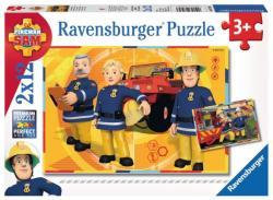 Ravensburger Sam, a tűzoltó 2x12 db-os (07584)