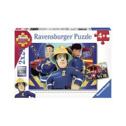 Ravensburger Sam, a tűzoltó 2x24 db-os