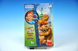 Dino Magasságmérő puzzle - Dinó tesó 150 db-os