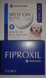 FIPROXIL Spot On Kutya S 0.67ml (3db)